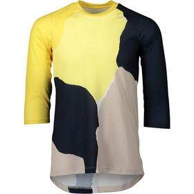POC Pure 3/4 Jersey Women, color splashes multi sulfur yellow